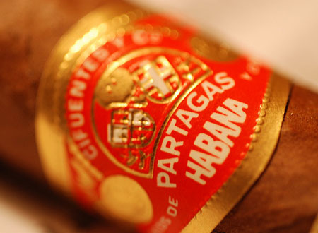 Partagas cigars
