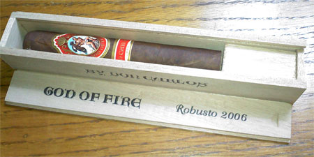 God of Fire Don Carlos 2006