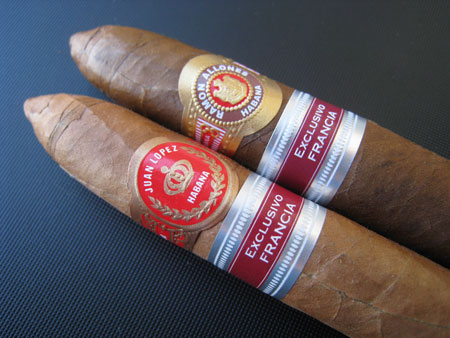 Juan Lopez Obus VS Ramon Allones Especial (RE France)