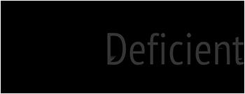 Deficient