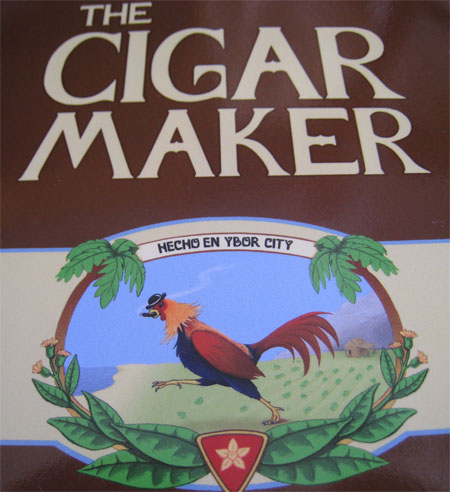 The Cigar Maker by Marc McGinty