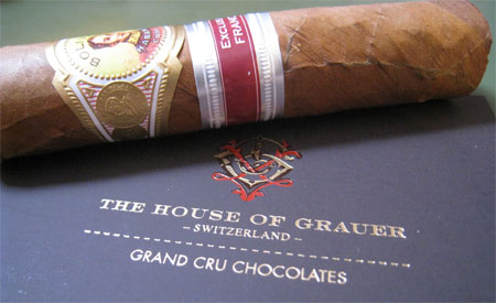 Pairing cigars with chocolate