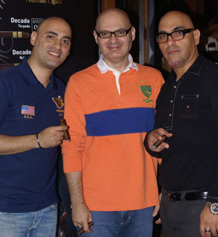 Billy, Gus and Bass Sakih