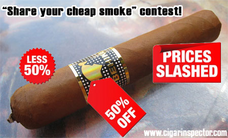 Share you cheap smoke!