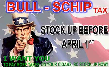 Bull-Schip Sale at CigarsDirect.com