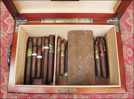 Returning cigars... don't be shy