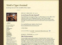 Matts Blog - first version