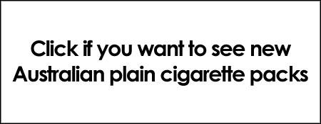 New Australian plain cigarette packs