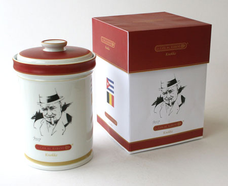 Winston Churchill Jar