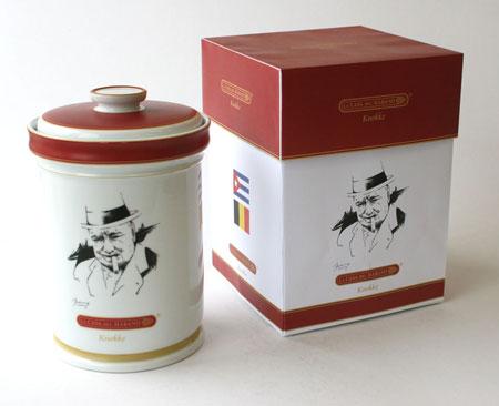 Winston Churchill Jar