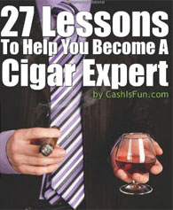27 lessons to become a cigar expert - book giveaway!
