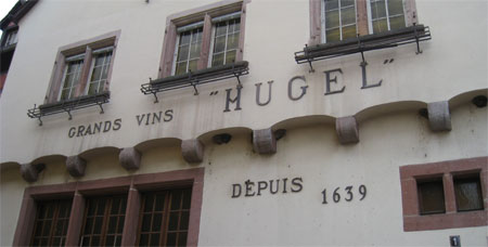 Hugel Wineries in Alsace