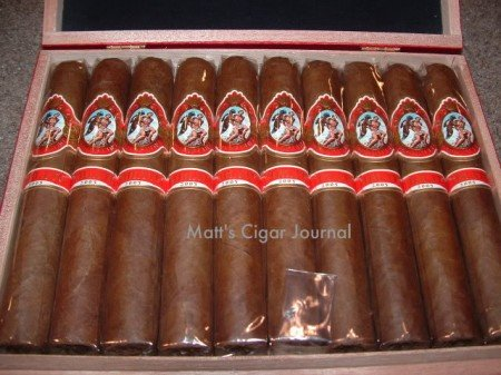 God Of Fire 2005 by Carlito Double Robusto