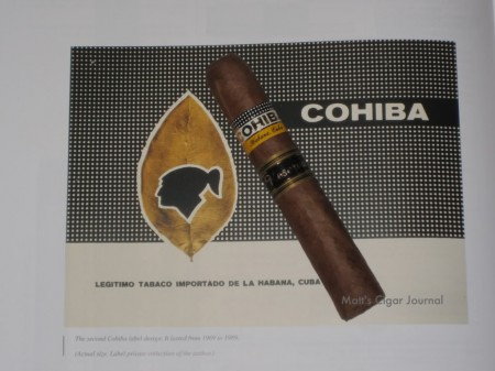 5th Anniversary Review Cohiba Robusto Reserva (2003)