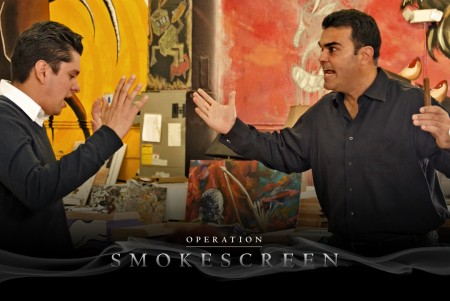 Christian Eiroa in Operation Smokescreen