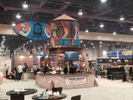 Drew Estate Booth at IPCPR