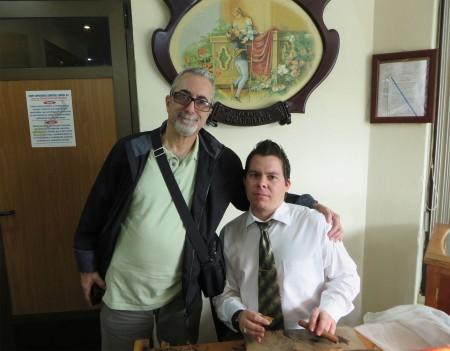 Alejandro Gozalez Arias with Matteo