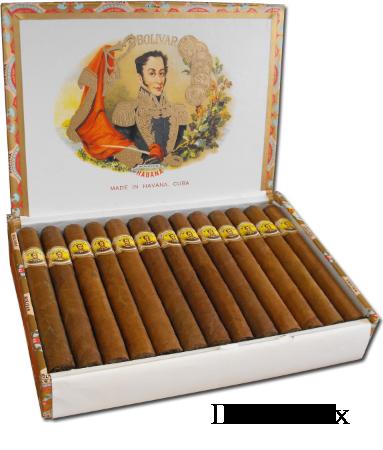 A dress box of Bolivars