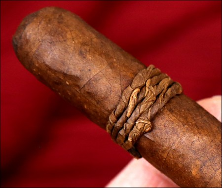 A rustic look adds to the cigar's mystique.