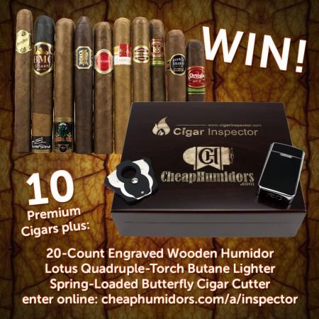Cigar Inspector & CheapHumidors.com contest