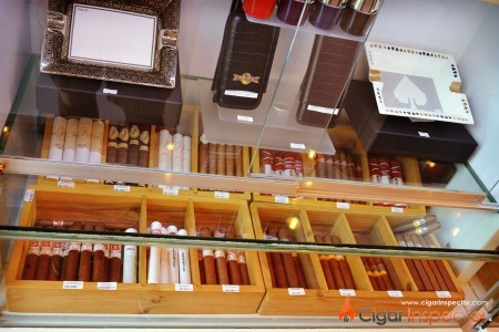 Humidor Shop in Saigon - the selection