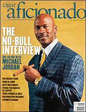 Michael Jordan Cigar Aficionado Cover