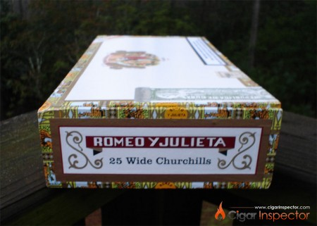 Romeo y Julieta Wide Churchills - Box