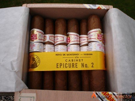 Hoyo de Monterrey Epicure No. 2 Vintage 2008 (box)