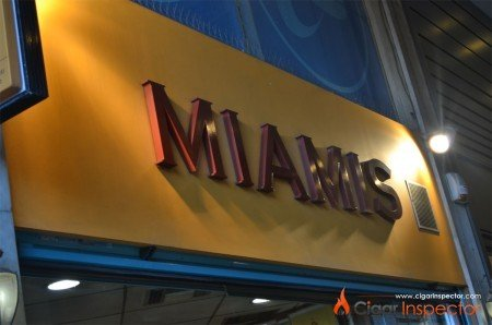 Miamis - cigar shop in Athens