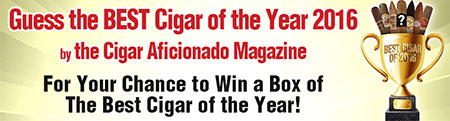 Guess the Best Cigar of the Year
