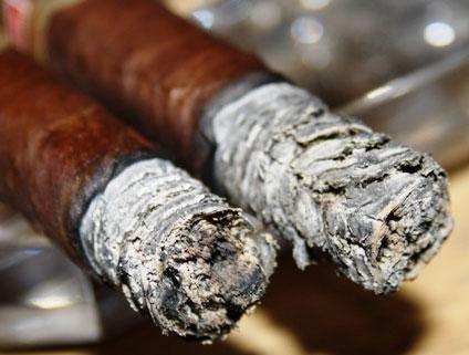 Wet Cigar Ash