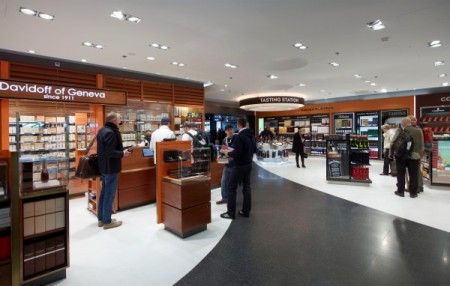 Zurich Airport Duty Free Cigar Shop